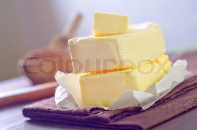 Butter, stock photo