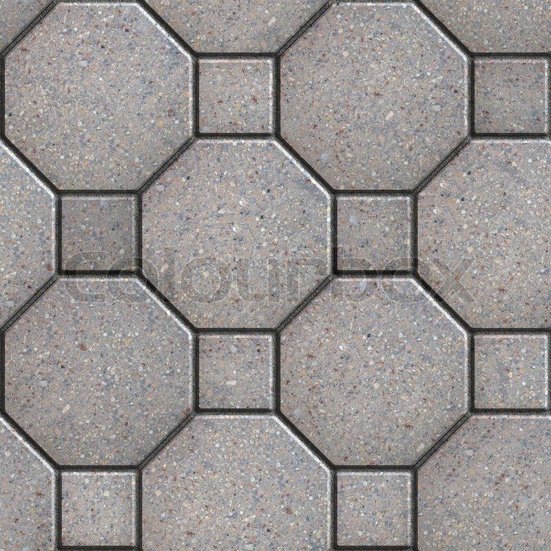 Paving Slabs Seamless Tileable Texture | Stock image | Colourbox