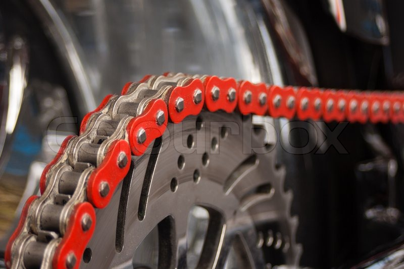 Best Tire Prices >> Motorcycle chain | Stock Photo | Colourbox