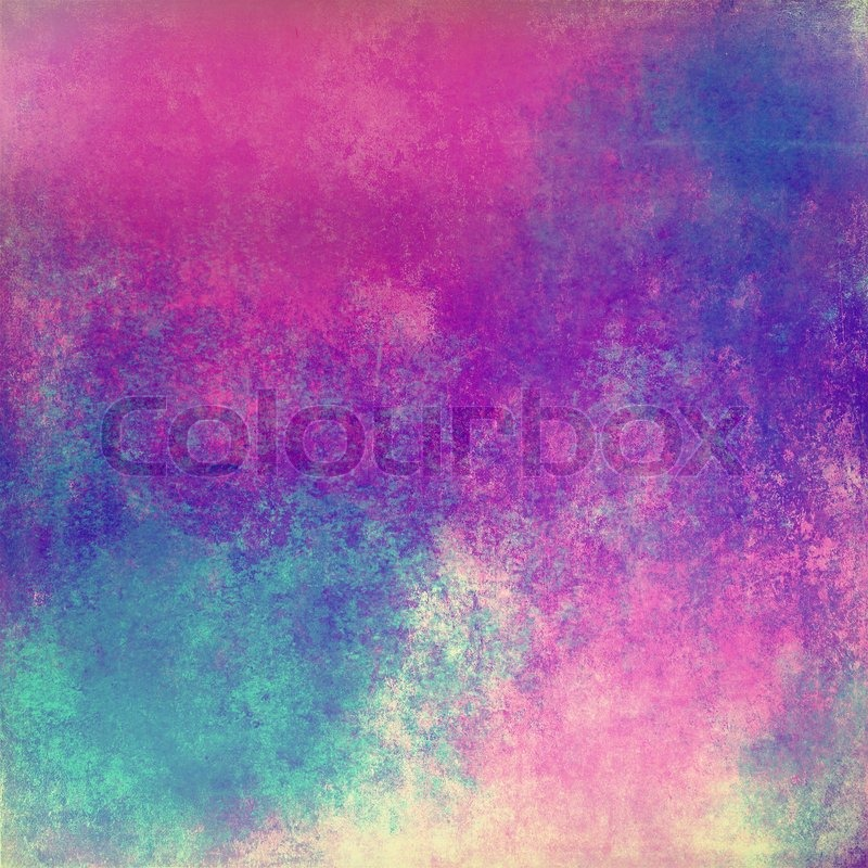 Multicolored abstract vintage background   Stock Photo   Colourbox