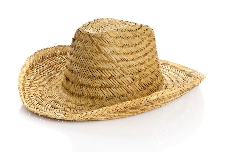 how to clean a white straw cowboy hat
