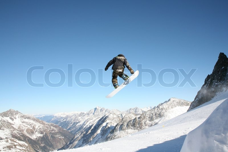 Stock image of \'sport, winter, snowboarding\'