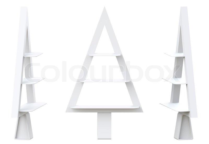 stock bild von 39 3d weihnachtsbaum regale und regal design. Black Bedroom Furniture Sets. Home Design Ideas