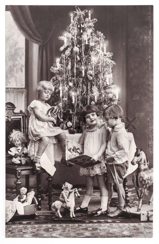 Berlin Germany Circa 1900 Antique Photo Of Happy Kids