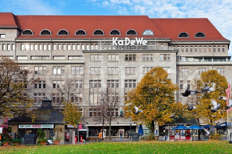 kadewe is the second largest department store in europe stock photo colourbox. Black Bedroom Furniture Sets. Home Design Ideas