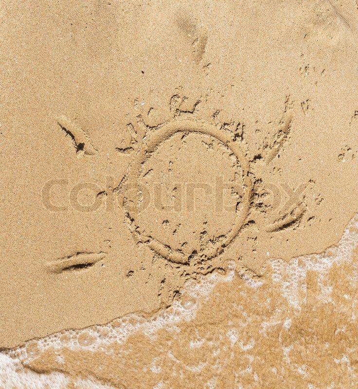 sand malen