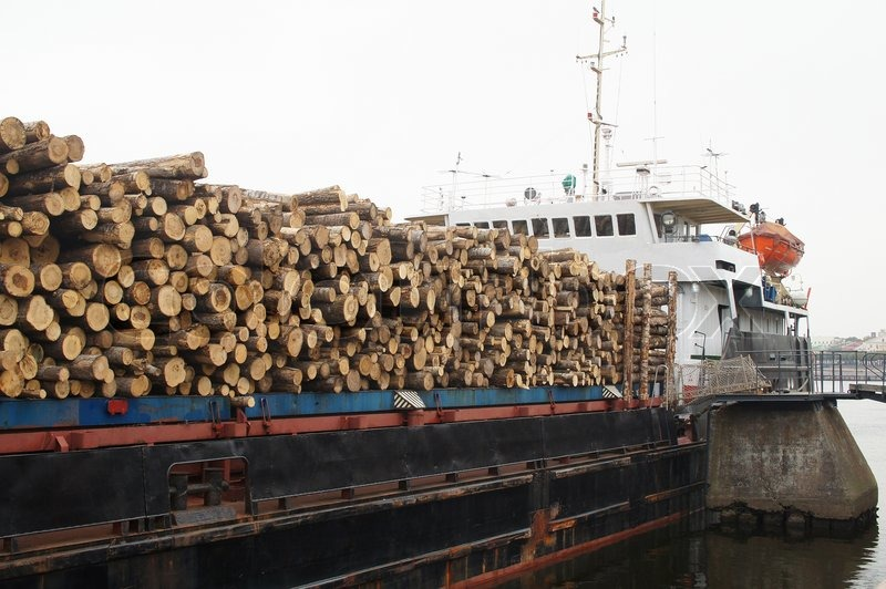 The Image Of A Timber Ship Stock Image Colourbox