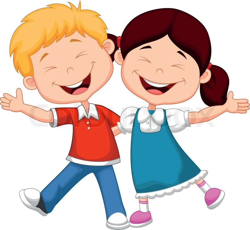 happy children cartoon - Kids Cartoon Images