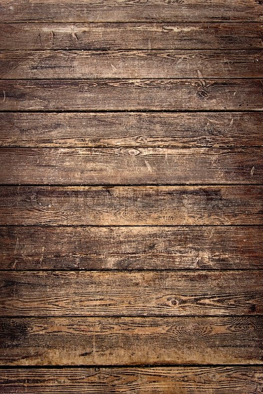 Worn Down Wooden Planks ~ Background of old worn wooden planks stock photo colourbox