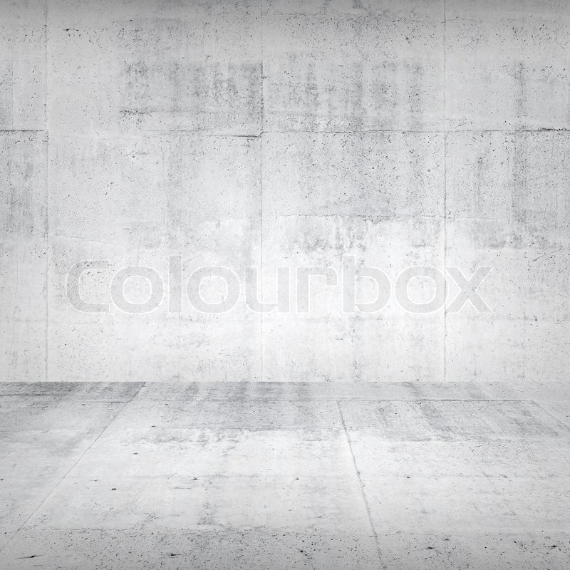 Abstract Empty White Interior With ...
