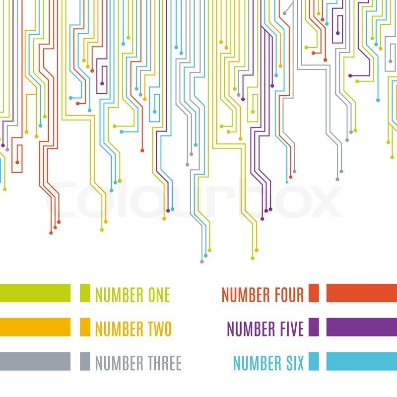 Leiterplatten Design | Leiterplatten Design Vektorgrafik Colourbox