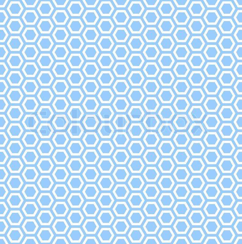 blue hexagonal pattern vector - photo #20