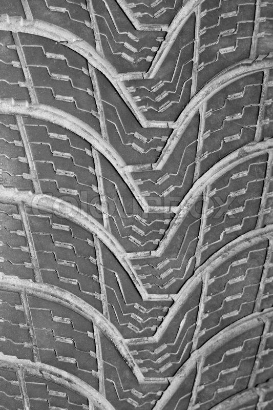 Tire tread pattern stock photo colourbox - Tire tread wallpaper ...