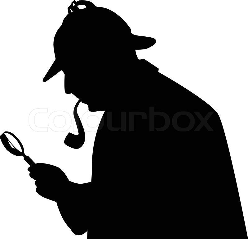 Sherlock 2 vektorgrafik colourbox - Dessin de sherlock holmes ...
