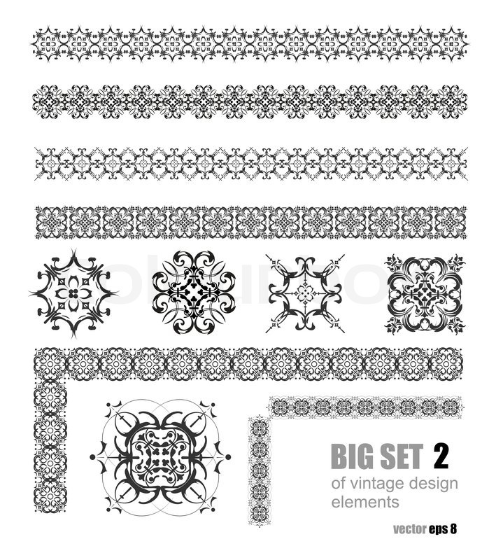 Superb Collection Of Ornamental Rule Lines In Different Design Styles