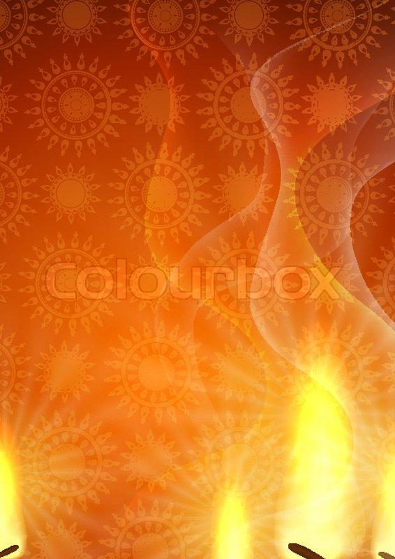 Happy Diwali Background Stock Vector Colourbox