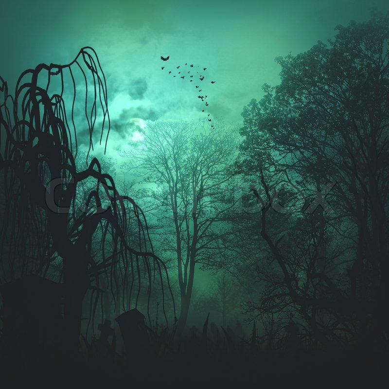 Horror And Mystery Backgrounds Stock Photo Colourbox