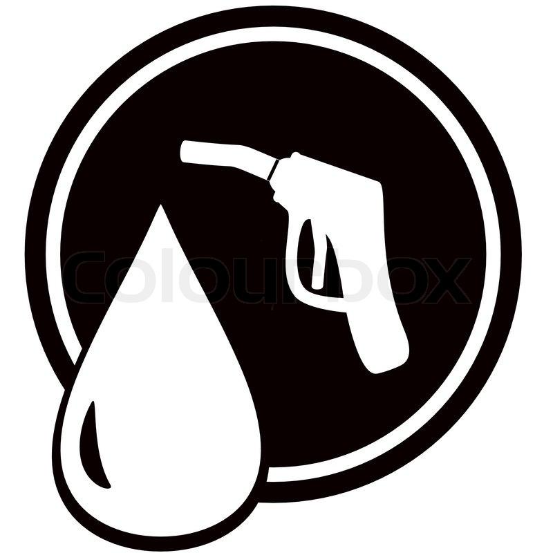 Black icon with gun fo... Gasoline Pump Handle