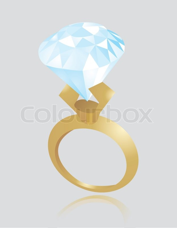 engagement ring vector - photo #28