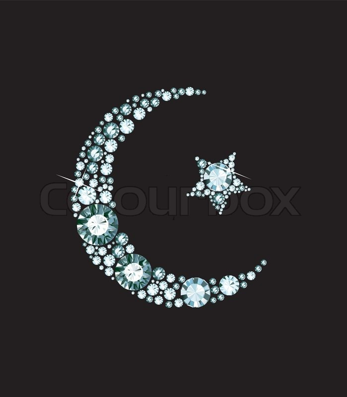 Diamond Islam Symbol | Stock vector | Colourbox