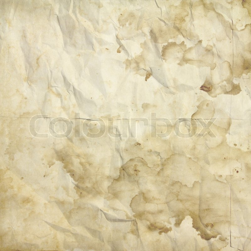 White crumpled grunge paper texture use for background, stock photo
