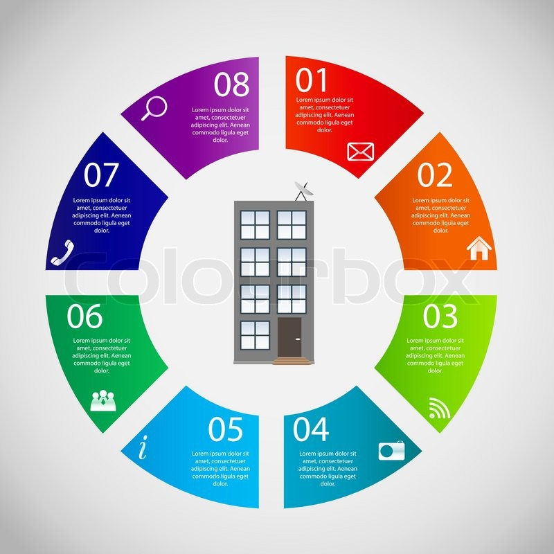Town infographic template business concept vector illustration town infographic template business concept vector illustration stock vector colourbox cheaphphosting Gallery