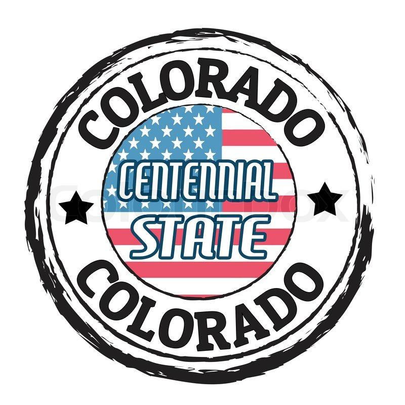 ColoradoCentennial State Stamp
