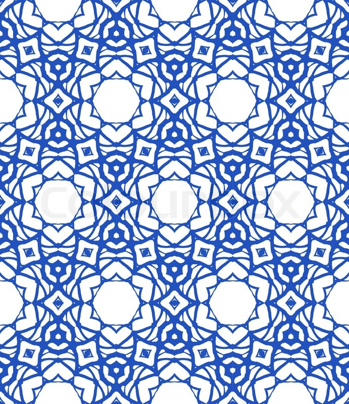 Vector pattern in royal blue and white Texture for web, print ...