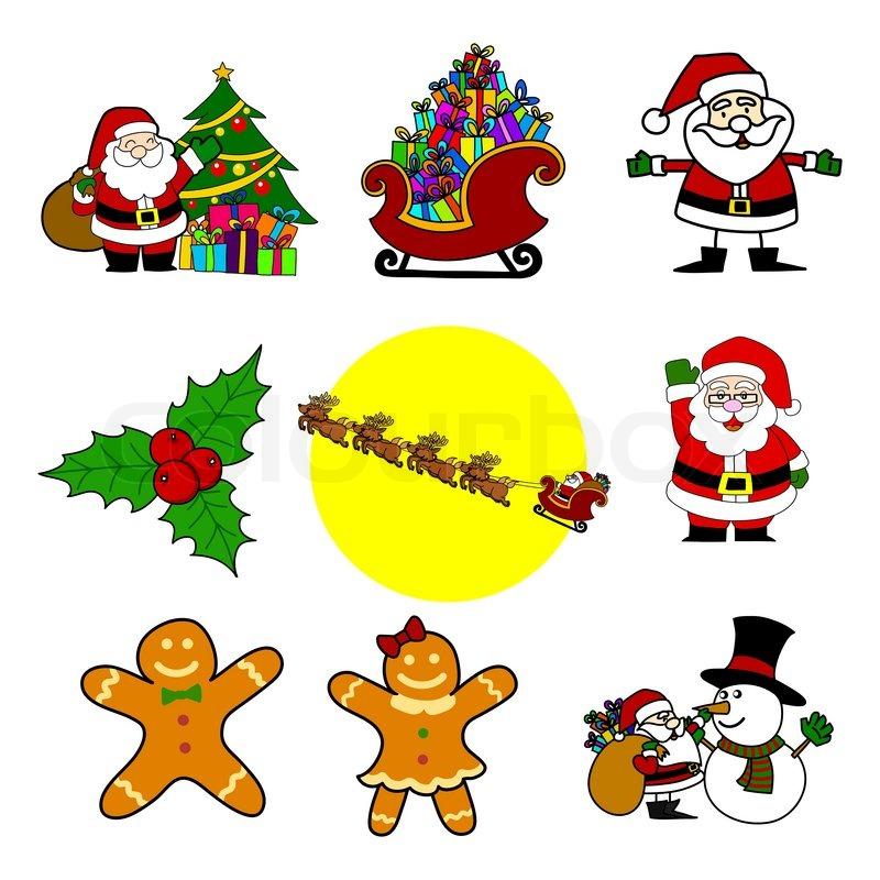 Christmas cartoon .Vector | Stock