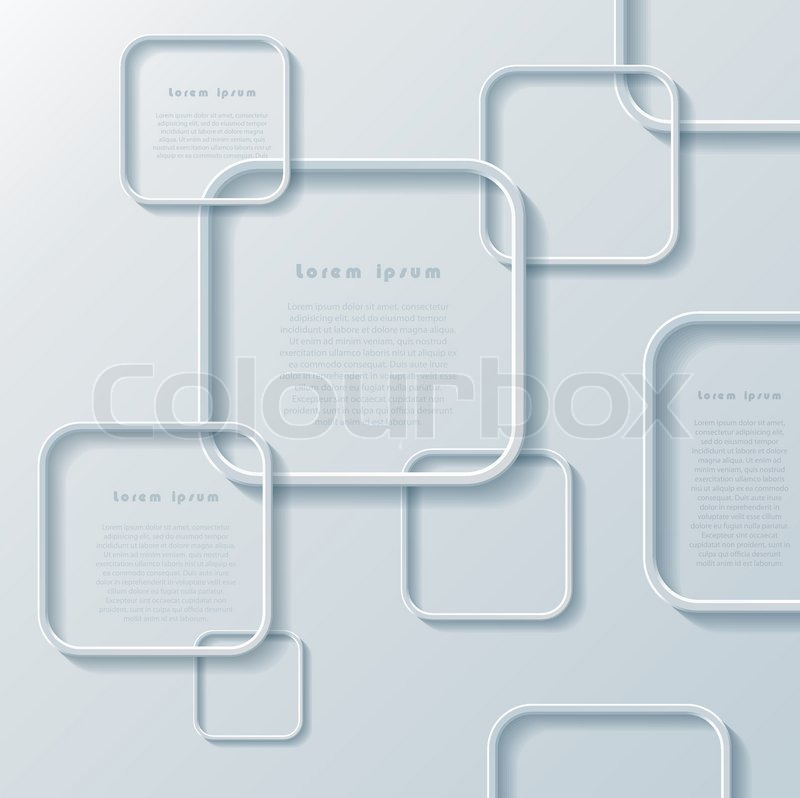 Modern abstract design with squares can be used for your business modern abstract design with squares can be used for your business web design graphic or website layout diagram numbers options infographics ccuart Choice Image