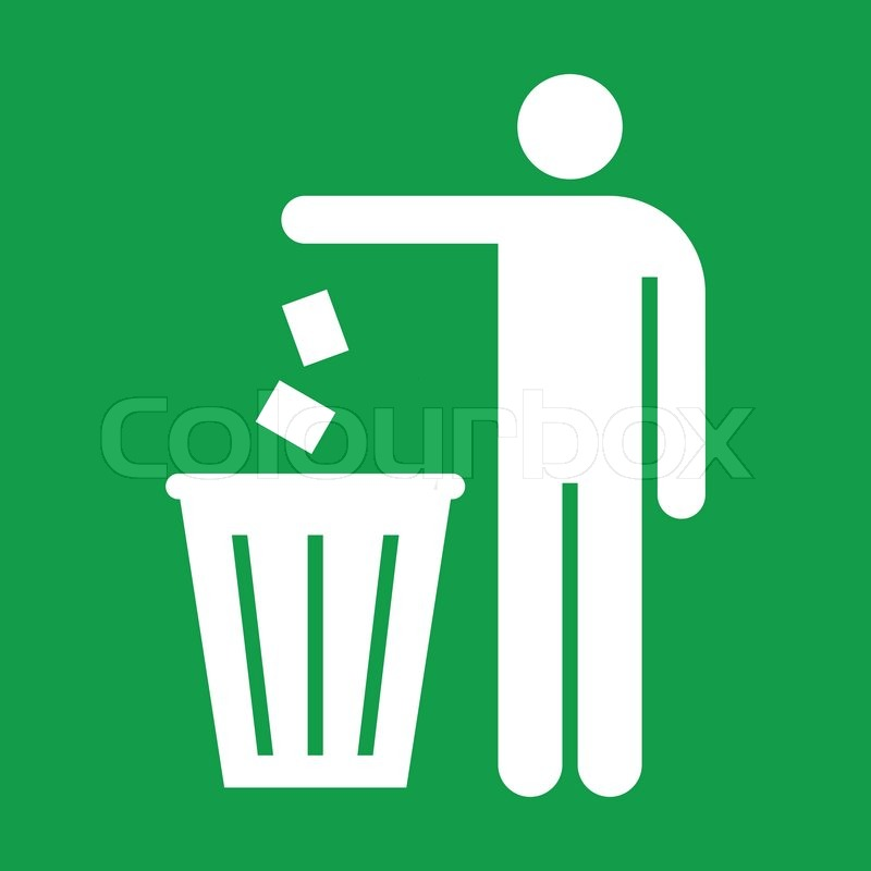 Set Of Trash Can Icon In Line Style Vector Ilration Isolated On A White Background