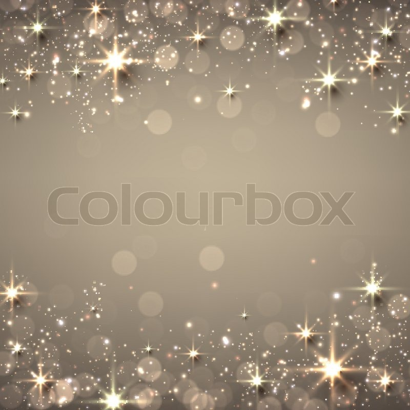 Golden Christmas Abstract Texture Stock Vector