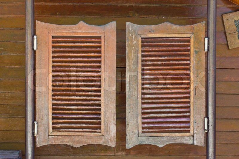old western swinging saloon doors stock photo colourbox. Black Bedroom Furniture Sets. Home Design Ideas