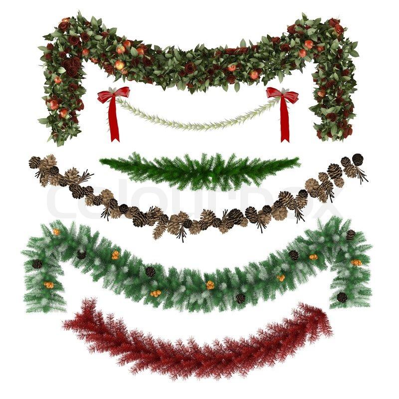 weihnachten ornamente muster girlanden spielzeug. Black Bedroom Furniture Sets. Home Design Ideas