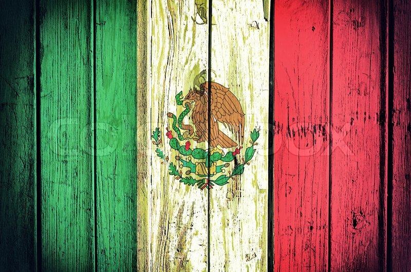 Mexican Flag Stock Photo Colourbox