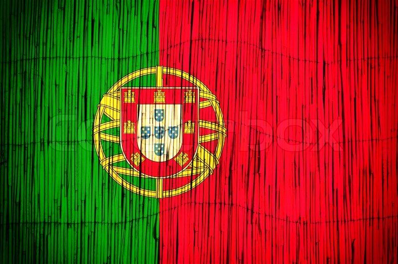 Portugal Flag Stock Photo Colourbox