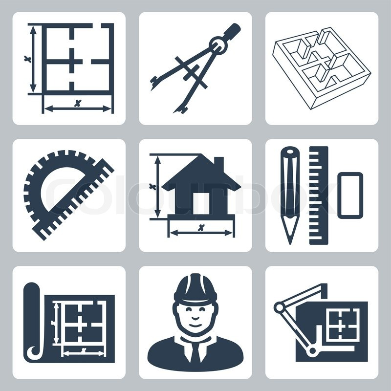 Building Supplies Icons