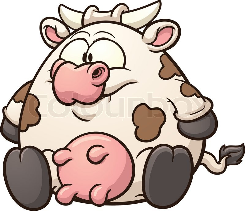 cute cartoon cow