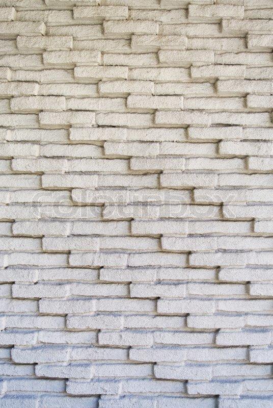White brick texture wall, stock photo