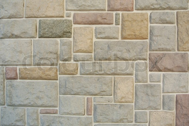 Square stones colorful texture wall background, stock photo