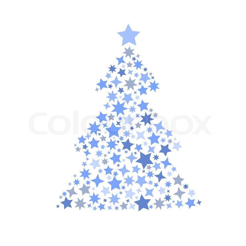 Symbol Weihnachtsbaum.Symbol Silhouette Weihnachtsbaum Stock Vektor Colourbox