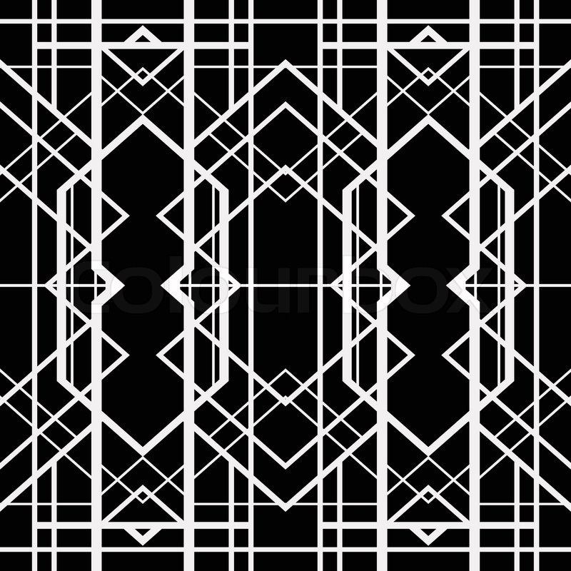 Vector of 'Art deco geometric pattern (1920's style)'