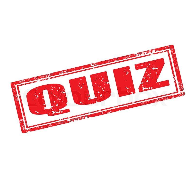 Quiz - Stempel | Vektorgrafik | Colourbox