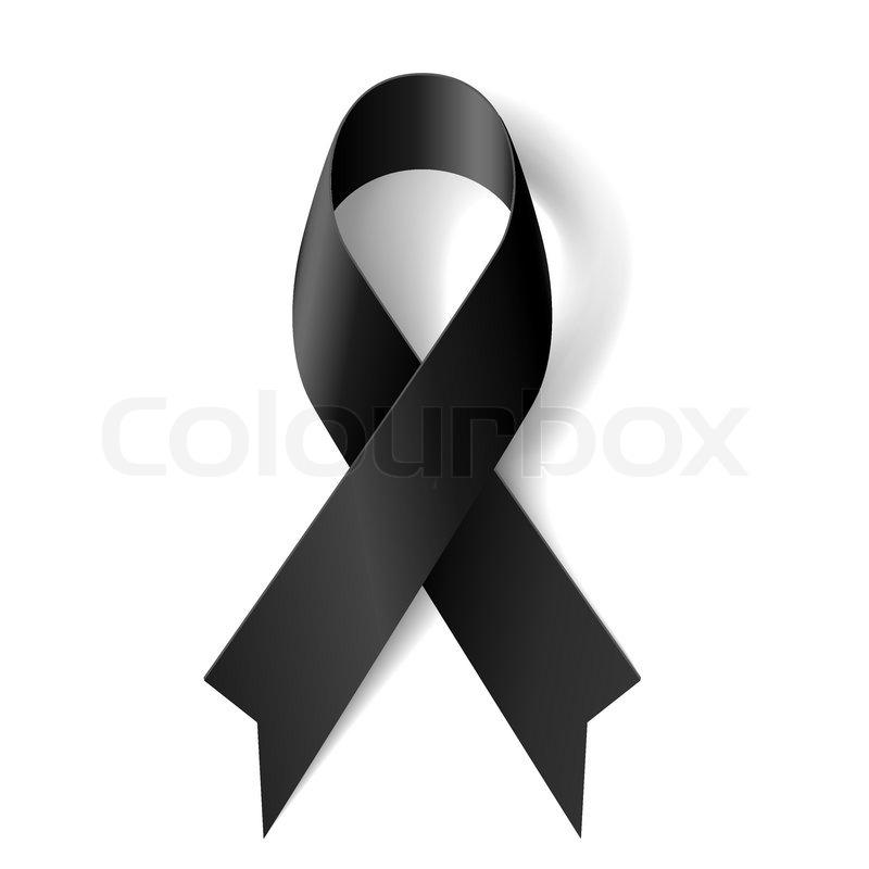 Black Ribbon Symbol Images Meaning Of Text Symbols