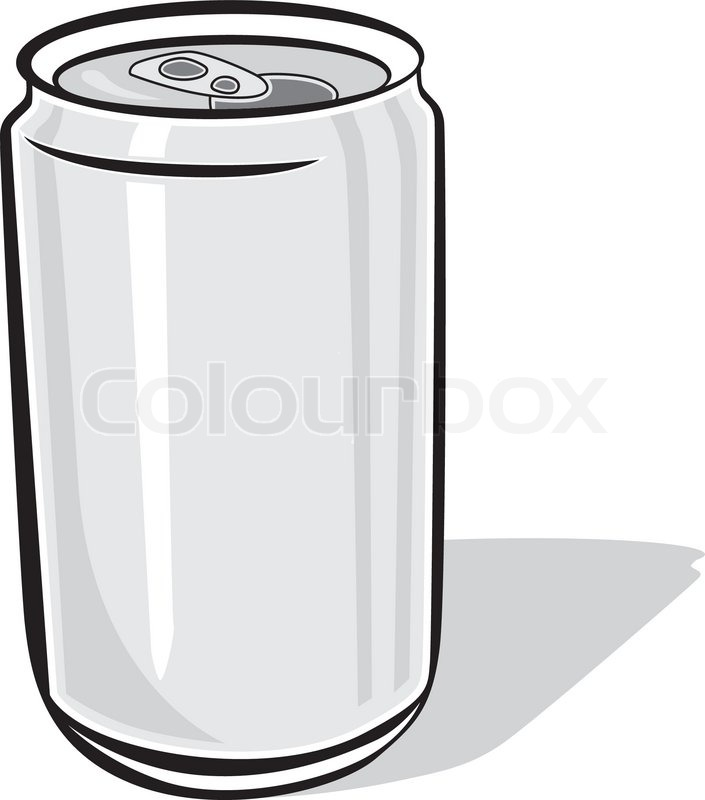 Aluminum Beer Can Stock Vector Colourbox