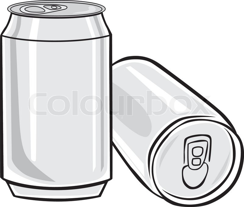 aluminum beer can stock vector colourbox rh colourbox com crushed beer can vector beer can vector free download