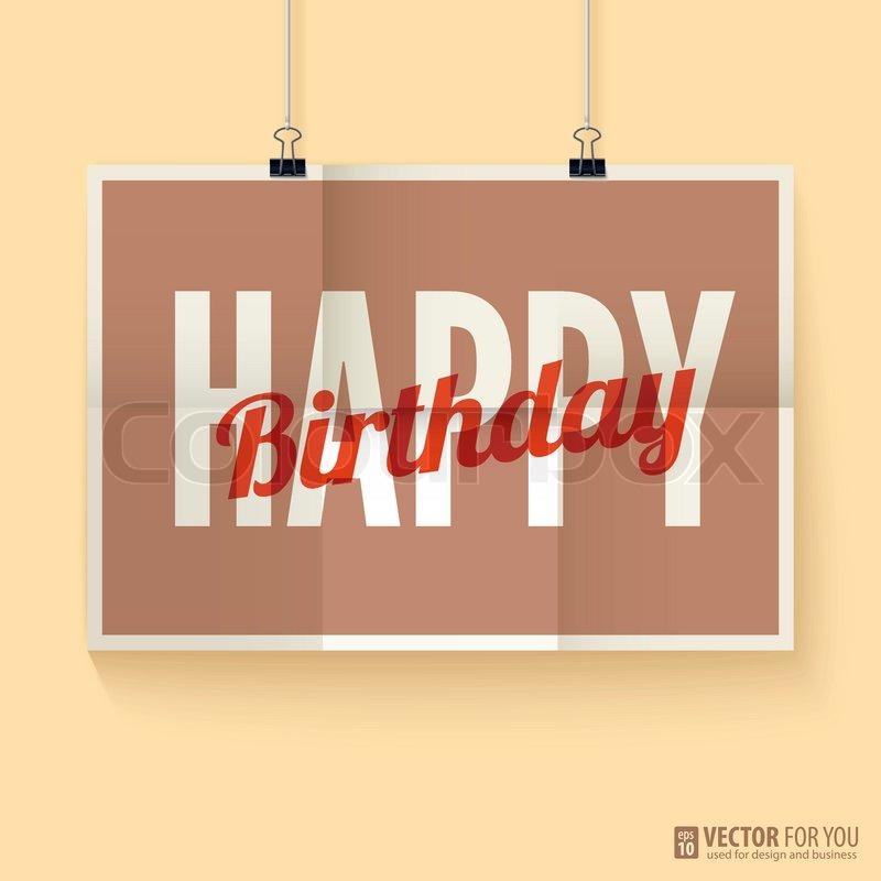 Happy Birthday Retro Images Vintage Retro Happy Birthday
