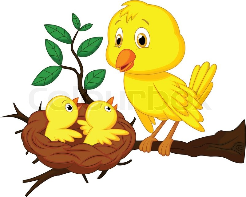 Gallery For gt Cute Cartoon Baby Birds Flying