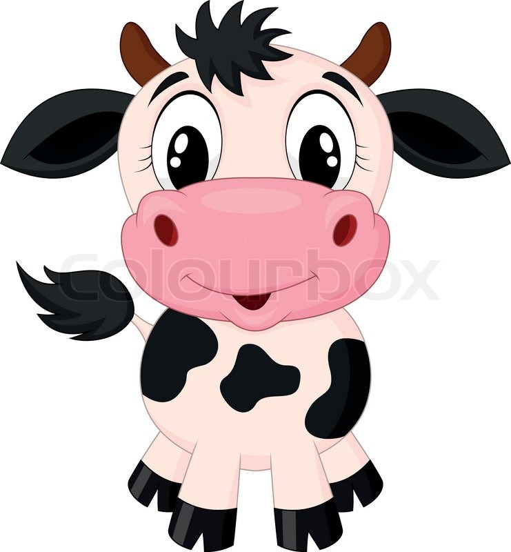 Cartoon cute animated cows cute baby cows cartoon cute cows