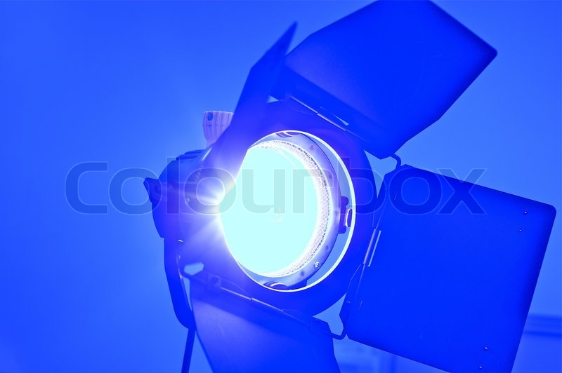 Gas Water Licht : Spot licht stockfoto colourbox